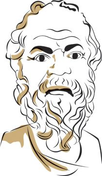 Socrates Coloring page Mystery