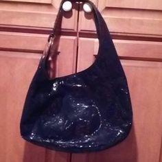 Black Michael Kors purse Black with snake print pattern Michael Kors Bags Shoulder Bags