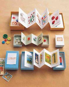 Treasure Chests/accordian boxes