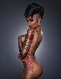 This gallery hosted by SmugMug; your photos look better here. Professional Photo Shoot, Free Mind, Boudoir Poses, Photo Look, Picture Tattoos, Tattoo Pics, Tattoos For Women, Tattooed Women, Your Photos