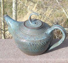Teapot TEA LADY BLUE - The Wheel and I $145