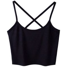 Sanwood Women's Sexy Tank Tops Cami T-Shirt Summer Vest Crop Top... ❤ liked on Polyvore featuring tops, sexy tops, summer tops, crop top, sexy tank tops and cami tank