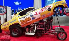 """Who Knows The Story Behind This """"Snake"""" Seen At SEMA This Year? What Do You Think Of The Upcoming Movie? Weird Cars, Cool Cars, Auto Racing, Drag Racing, Sema Show Las Vegas, Don Prudhomme, Snake And Mongoose, Performance Auto Parts, Top Fuel"""