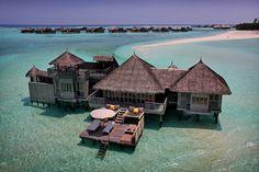 Maldives is my ultimate dream vaca! soneva gili by six senses, maldives