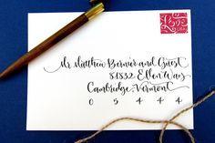 hand addressed envelope service - Google Search