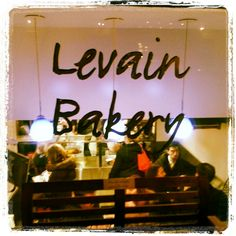 Levain Bakery 167 W 74th St. Famous chocolate chip cookies - but that's not all
