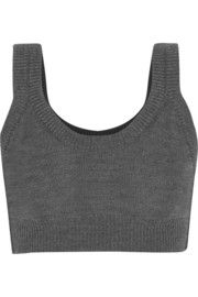 Baptista cropped wool top
