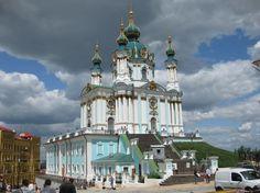 Андреевская церковь, Украина