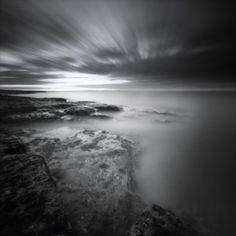 Gorgeous! From the author: taken near Bamburgh on Northumberland coast.  (Zero 2000 pinhole camera, 120 film, f138, close to an hour)