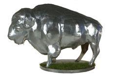 Name: Industrial Bison  Artist:  Ryan Lavelle  Location: RDO Equipment  700 7th St S, Fargo, ND