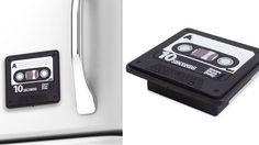 Grabadora imantada cinta de cassette: será parte de tu vida - 12€