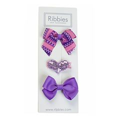 Sophia NoSlip Grip Hair Ribbons 3 Pack by Ribbies *** Be sure to check out this awesome product.