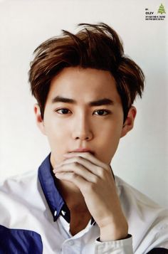 Suho - 141221 2015 Season's Greetings official calendar, Chinese version