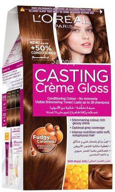 loreal paris casting creme gloss 534 maple caramel - Coloration L Oreal Caramel