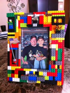 Lego picture frame I made :)