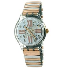 Swatch Copper Rush Unisex Watch ** Watch details can be found by clicking on the image. Fossil Watches, Rolex Watches, Modern Watches, Michael Kors Watch, Swatch, Image Link, Copper, Unisex, Amazon