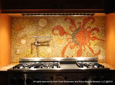 This would be WONDERFUL as a custom splash guard behind a kitchen stove! LOVE the colors!!!eJonathan_and_Tara.JPG