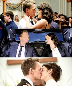 Barney and Robin Ted And Robin, Barney And Robin, Robin Scherbatsky, How I Met Your Mother, Series Movies, Tv Series, Yellow Umbrella, Neil Patrick Harris, Cobie Smulders