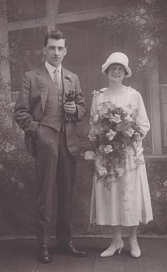 Edna Johnson and Joseph Stewart by Elle Cloughie, via Flickr