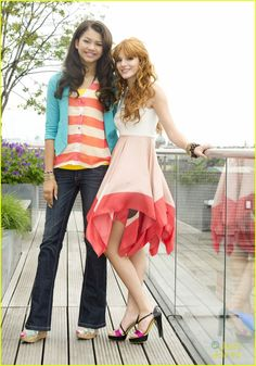 Bella Thorne & Zendaya: Munich Rooftop Photo Call: Photo Bella Thorne and Zendaya pose for some shots on a rooftop during a photo call for their hit Disney show, Shake It Up, in Munich, Germany on Monday afternoon (May… Shake It Up, Bella Thorne And Zendaya, Zendaya Maree Stoermer Coleman, Look At Her Now, Bella Throne, Girl Fashion Style, Disney Stars, Celebrity Outfits, Disney Girls