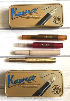 Welcome back for another edition of affordable fountain pens! This week I'm sharing my favorite, most portable fountain pen—the Kaweco Sport, specifically the Classic, ICE, and Skyline … Kaweco Fountain Pen, Fountain Pen Ink, Supplements For Hair Loss, Calligraphy Nibs, Small Fountains, Vitamins For Hair Growth, Strong Nails, Writing Instruments, Stationery