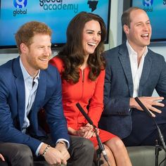 Kate, William and Harry are officially opening the Global Academy in Hayes, west London and will take part in a roundtable discussion on mental health