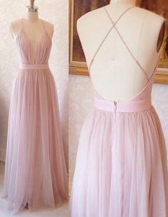 pink long sexy prom dresses, spaghetti straps long prom dresses, dresses for women, chiffon long prom dresses, backless prom dresses, erlegant prom dresses, hot selling prom dresses, new arrival prom dresses, hotseeling prom dresses