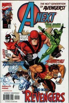A-Next #8 May 1999 Marvel Comics Defalco 1st full Hope Pym Ant-Man /& Wasp