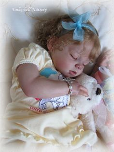 Arianna Sleeper by Reva Schick - Online Store - City of Reborn Angels Supplier of Reborn Doll Kits and Supplies