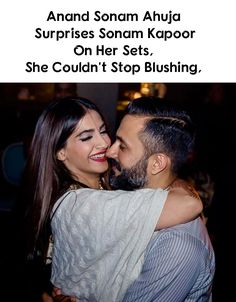 Anand Sonam Ahuja paid a surprise visit to his darling wife, Sonam Kapoor Ahuja on her sets, a day after her 34th birthday. The fashionista took to Instagram stories to share the same. Pic inside.