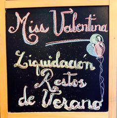 f8749698ca69e LIQUIDACIÓN DE RESTOS DE VERANO! HASTA -70% DE DESCUENTO! MISS VALENTINA