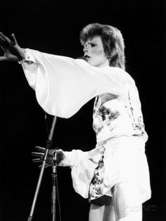 David Bowie, May 1973 Photographic Print - AllPosters.co.uk
