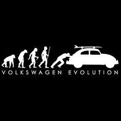 VW VOLKSWAGEN T SHIRT - Evolution BUG - VW TEE SHIRT #Volkswagen #GraphicTee