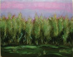 Forbidden Fields 2 by Karen Woodbury   18 x 24 acrylic on canvas   copyright 2015 all rights reserved