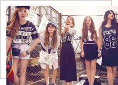 Red Velvet Kpop Fashion Meters/Bonwe Summer 2016