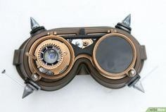 Steampunk Brille herstellen – wikiHow