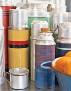 george's thermos collection