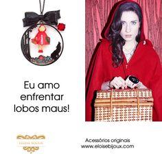#acessórios #moda #colar #capuchinho vermelho #les nereides #n2
