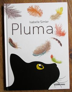 In Isabelle Simler's picture book Plume, young readers will be fascinated by her beautiful, realistic illustrations of bird feathers.