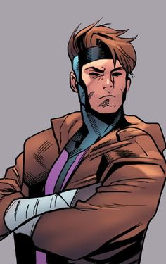 """wlwboomboom: """" Remy LeBeau in Excalibur """"Y'all keep sending me on errands for him without telling me, and I'mma make a real mess of it one of these days. Marvel Comics, Gambit Marvel, Gambit X Men, Rogue Gambit, Loki Marvel, Xmen, Marvel Heroes, Comic Book Characters, Comic Character"""