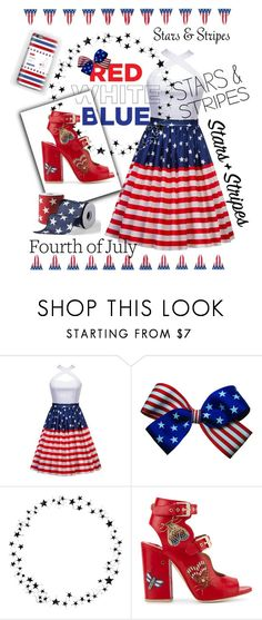 """""""'Merica"""" by d-fashion98 ❤ liked on Polyvore featuring Camp, Laurence Dacade and Grandin Road"""