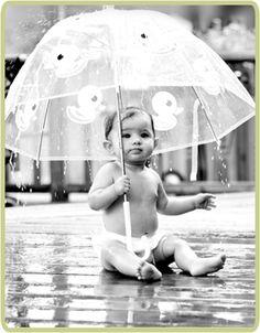 New Born Baby Photography Picture Description rainy day cuteness Rainy Day Photography, Rain Photography, Newborn Baby Photography, Amazing Photography, Photography Magazine, Newborn Photos, Photography Ideas, Baby Calendar, Kids Umbrellas