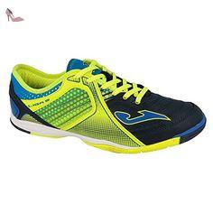 6d007554af18 Joma Ligue 5 indoor, Chaussures de sport, Homme, Jaune/Bleu, 43
