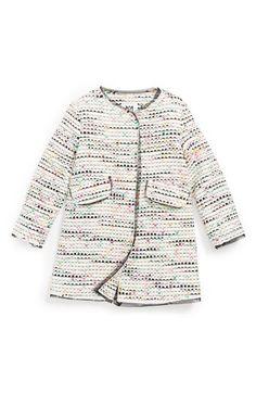 Milly Minis 'Confetti' Tweed Coat (Toddler Girls, Little Girls & Big Girls) | Nordstrom