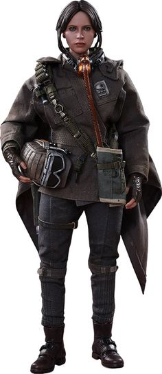 Star Wars Rogue One Jyn Erso Deluxe Sixth-Scale Figure