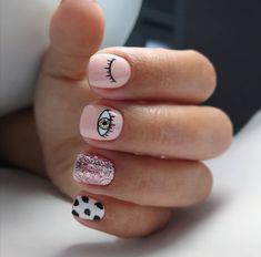 Glam Nails, Classy Nails, Trendy Nails, Cute Nails, Hair And Nails, My Nails, Checkered Nails, Nail Drawing, Magic Nails
