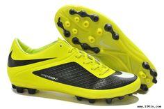 5b0d977d7 Buy 2013 New Nike Hypervenom Phelon AG Boots Black Yellow Soccer Boots For  Sale