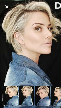 Pin on Short hair dos Pin on Short hair dos Long Pixie Hairstyles, Short Hairstyles For Women, Cool Hairstyles, Short Hair Dos, Peinados Pin Up, Great Hair, Hair Today, Hair Looks, Hair Inspiration