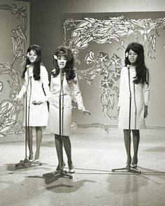 The Ronettes, made in the sixties