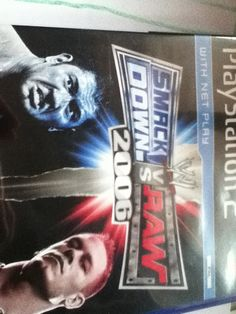 Got smackdown vs raw 2006 game for ps2